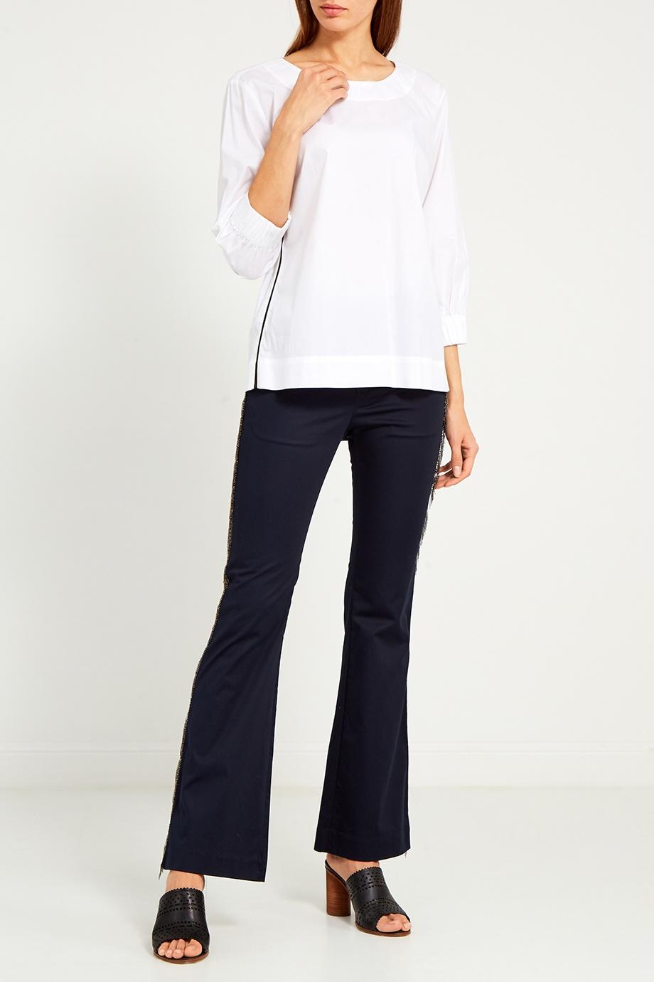 Блуза MILAMARSEL Белая блузка