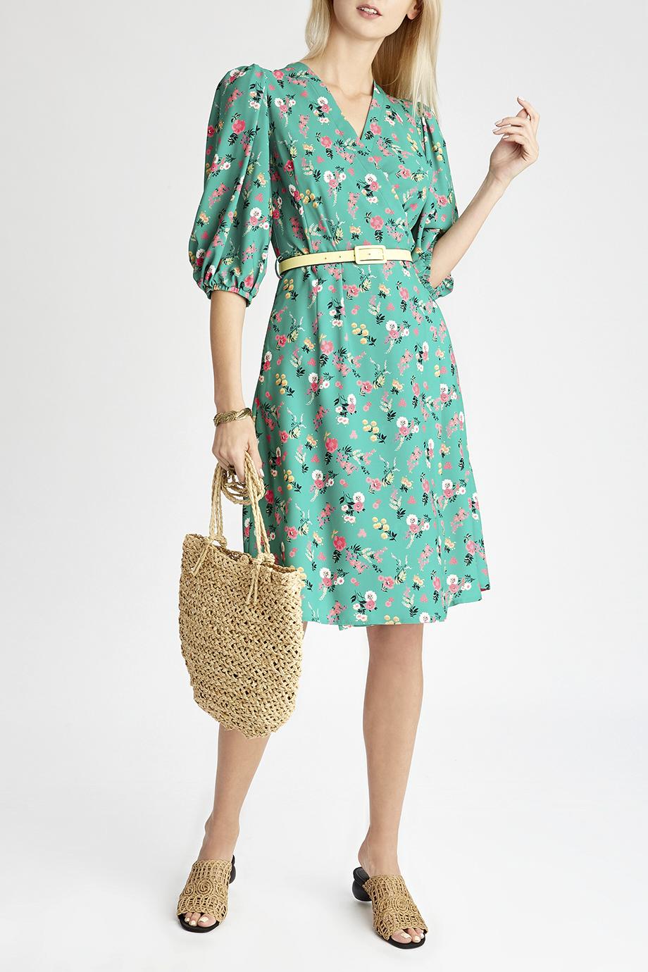Платье с поясом Mila Marsel