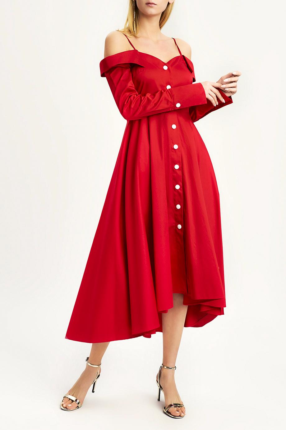 Платье MILAMARSEL Красное платье